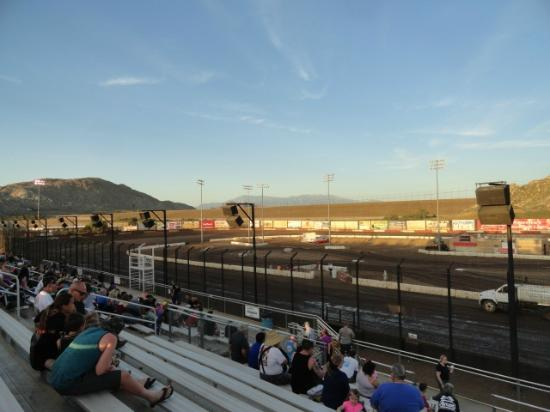 turn four picture of perris auto speedway perris tripadvisor. Black Bedroom Furniture Sets. Home Design Ideas