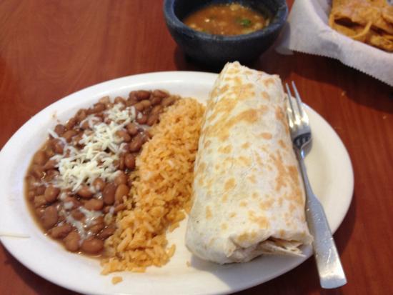 Las Palmitas: Huge burrito