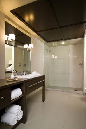 Hôtel Mortagne : Salle de bain