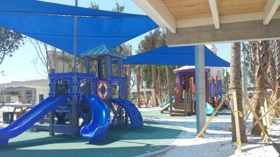 Crescent Beach Playground At Park