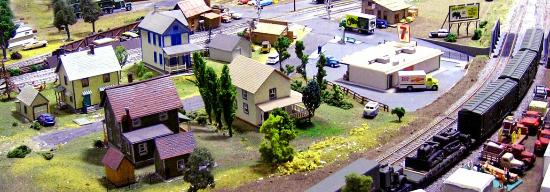 The Murphy Auto Museum: H/O scale model railroad layout