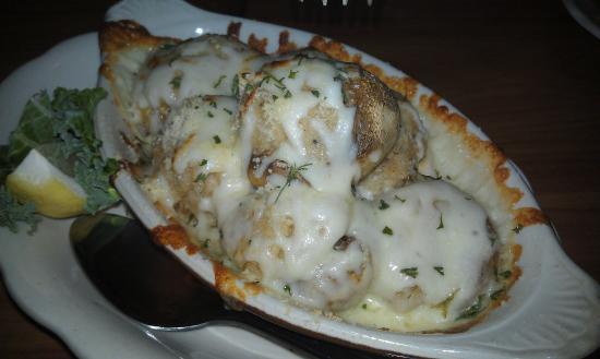 Hart's Turkey Farm: Seafood Stuffed Mushroom Caps