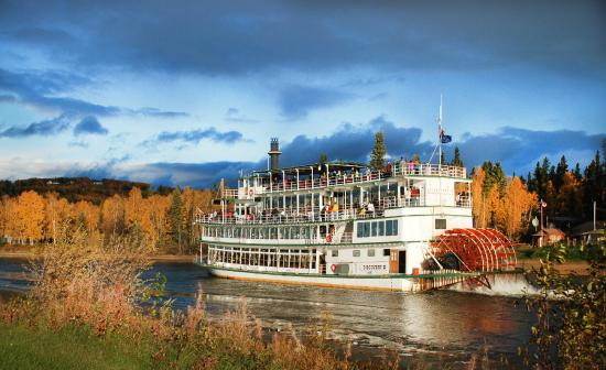 Riverboat Discovery: Fall colors