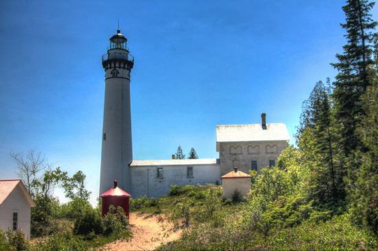 Glen Arbor, MI : South Manitou Island Lighthouse