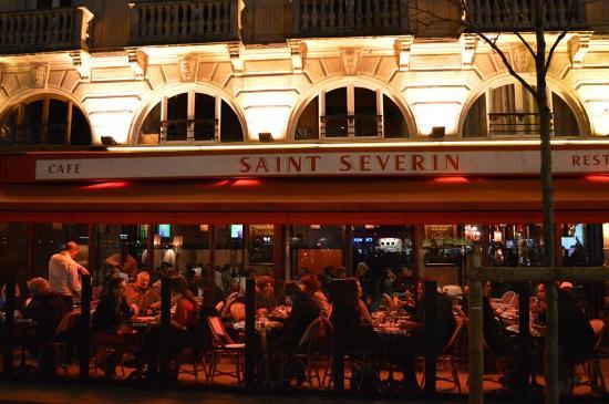 Saint Severin: desde la calle.