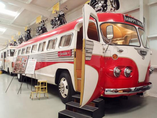 Jack Sisemore Traveland RV Museum: 1948 Flxible Bus from movie RV