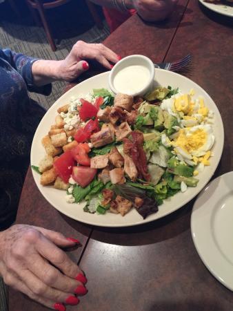 Cobb salad-it's huge!