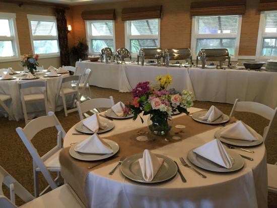 Roy's Place Cafe & Catering : Rehearsal Dinner, Shipyard Beach Club