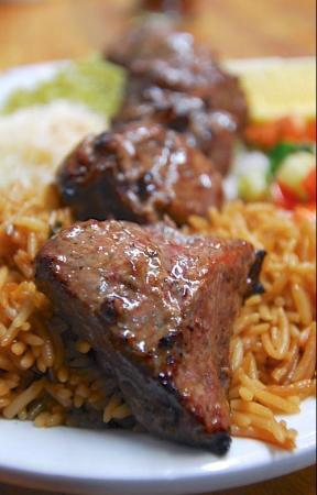 Khyber Pass: Tekka Kebab (Filet mignon)