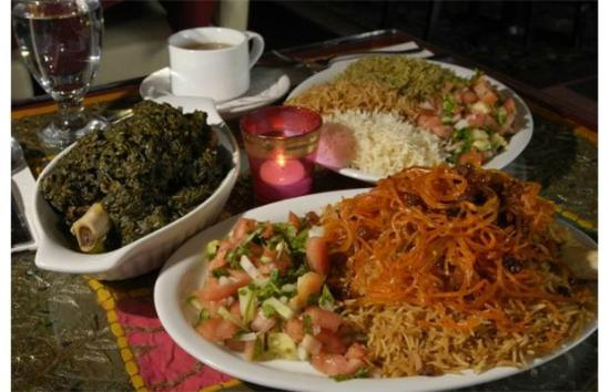 Khyber Pass: Typical meal