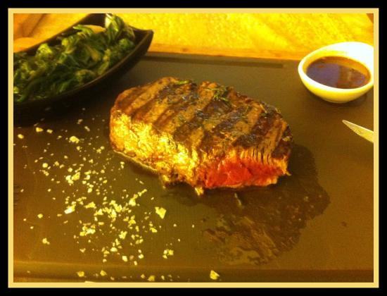 Sky Grill: The delicious US beef tenderloin
