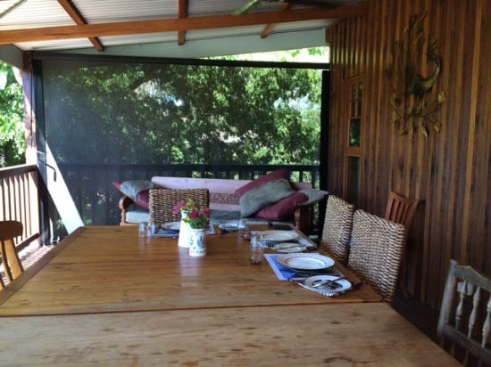 oreillys orchard lovely spot on the verandah for a beautiful fresh home cooked beautiful fresh home