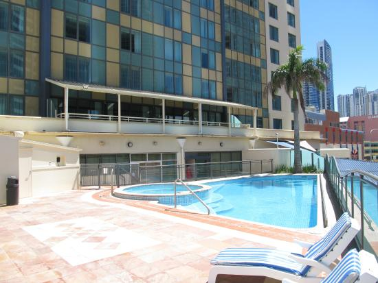 One Of Two Pools Picture Of Voco Gold Coast Surfers Paradise