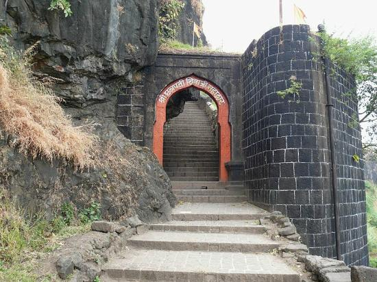 Satara, Индия: Main Entrance of Fort