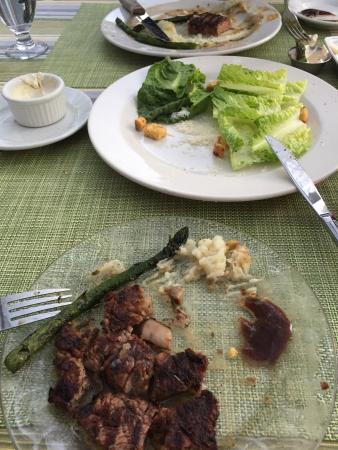 Calistoga Inn : Terrible steak