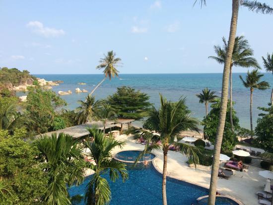 Mercure Koh Samui Beach Resort: View from the top floor hotel rooms