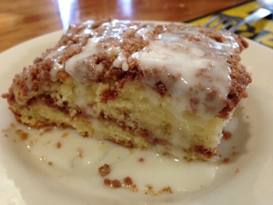 Beach Break Cafe Coffee Cake