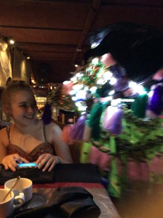 Al Faris Floating Restaurant - Managed by Amazon Tours UAE: Katie and the horse