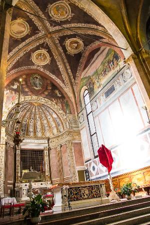 Abano Terme, Italy: Zona dell'altare