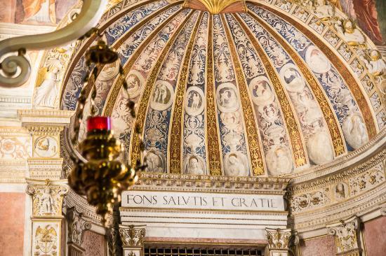 Abano Terme, Italy: Particolare della cupola