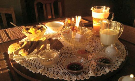 Casilda House B&B : Breakfast delight. Fit for a King at Casilda (castle) House