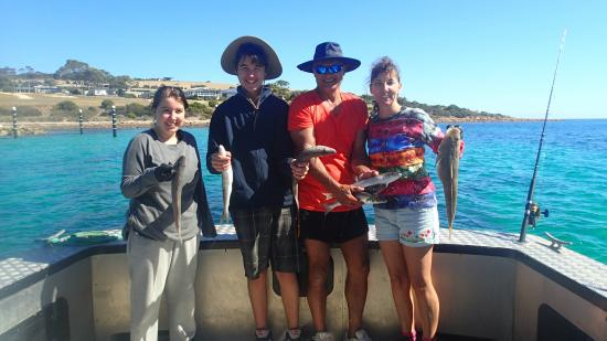 Emu Bay Fishing Charters - Private Charters: Second trip the weather was tops!