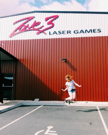 Zone 3 Laser Games: Zone on Waverly