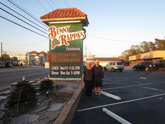 Benny Rappa's Trattoria : Benny Rappa's