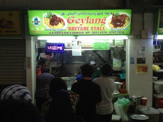 Geylang Serai New Market : Stall Front