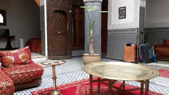 رياض تايبا: Riad Tayba/Innenhof