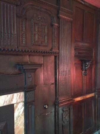 Kendricks Restaurant and Bar : interesting wood work