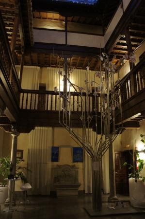 Gar-Anat Hotel Boutique: Innenhof des Hotels