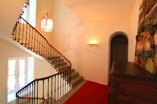 Château Haut-Gléon: Escalier du château