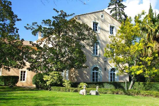 Villeseque-des-Corbieres, ฝรั่งเศส: Vue du parc