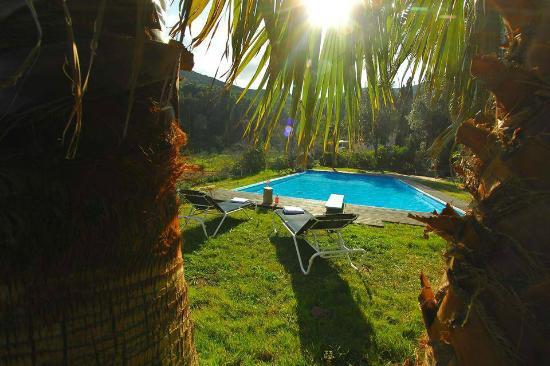 Chateau Haut-Gleon: Espace piscine
