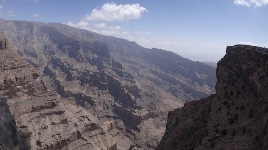 Wadi Ghul - Oman's Grand Canyon: canyon oman
