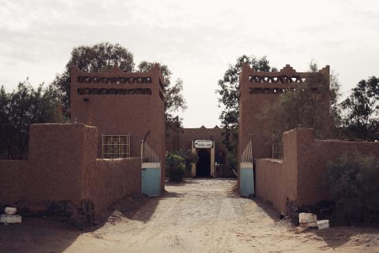 Auberge Camping Ocean Des Dunes: entrance