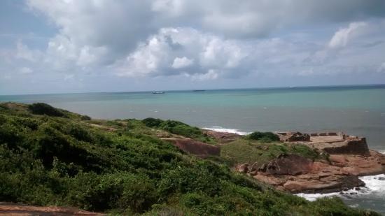 Forte Castelo do Mar ruins: vista