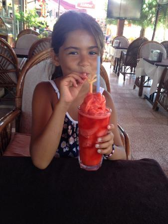 Safran Restaurant Cafe & Bar: strawberry daıquırı