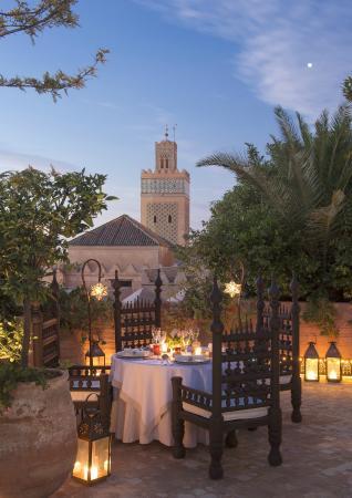 Summer Rooftop dinning La Sultana Marrakech