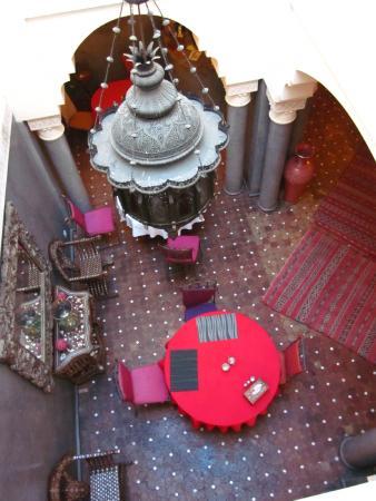 Riad Les Clefs Du Sud: restaurant