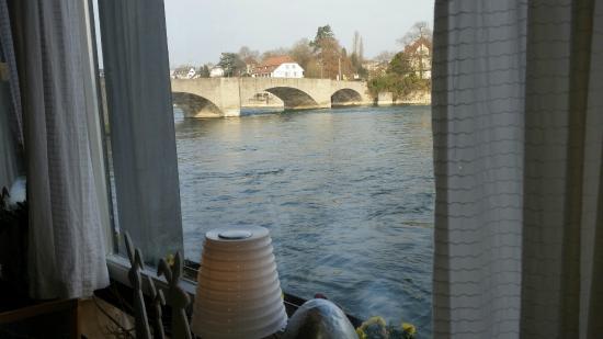 Hotel Schiff am Rhein : hotel shiff sala colazione