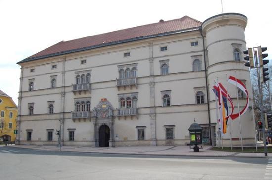 Spittal an der Drau, Austria: Schloss Porcia