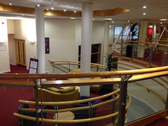 The Pendulum Hotel: Lobby.