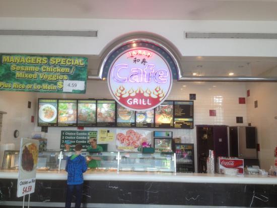 Siracusa, estado de Nueva York: Front of Japan Cafe Grill