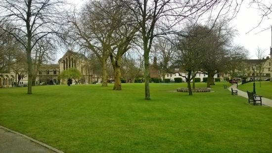Dean's Park: View across the Park