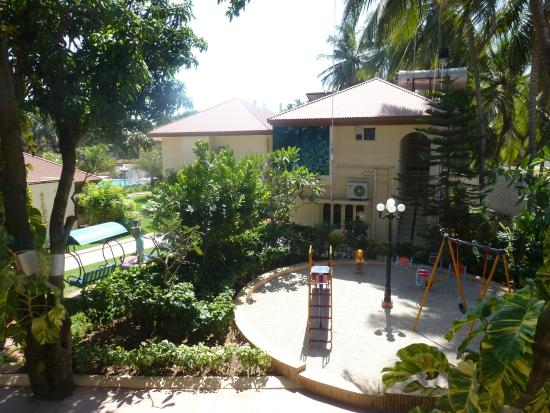 Radhika Beach Resort: view from our room
