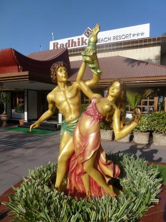 Radhika Beach Resort: a paradise of kitsch