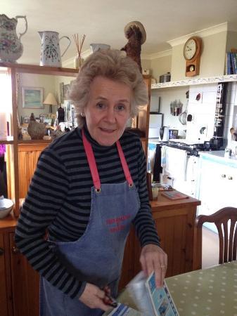 Craigiewood: Minty, our wonderful proprietress.