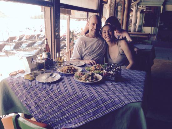 Crystal Restaurant: Thai salads, yum!